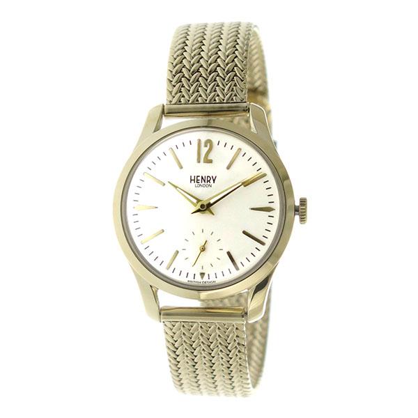 ヘンリーロンドン HENRY LONDON クオーツ レディース 腕時計 時計 HL30-UM-0004 アイボリー【ポイント10倍】【楽ギフ_包装】
