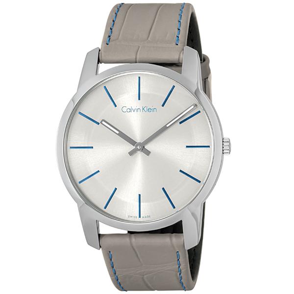 カルバン クライン Calvin Klein シティ クオーツ メンズ 腕時計 時計 K2G211.Q4 グレー