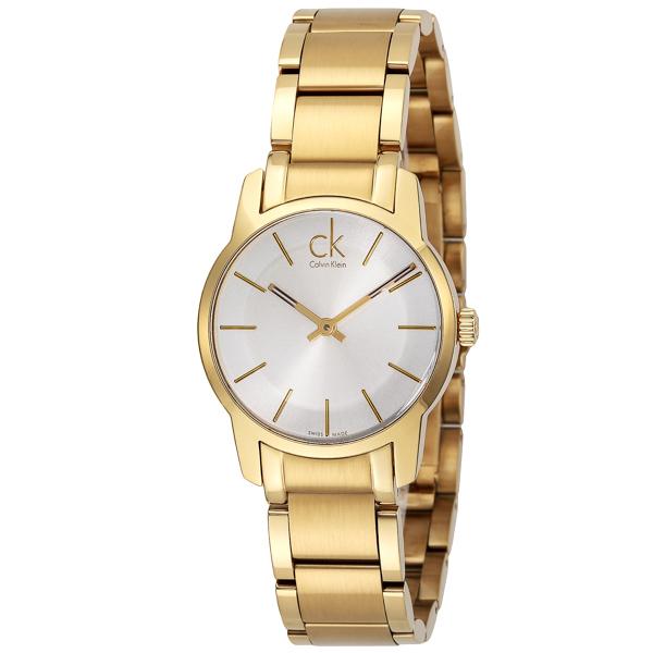 カルバン クライン Calvin Klein シティ クオーツ レディース 腕時計 時計 K2G235.46 シルバー