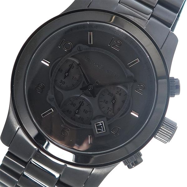 マイケルコース MICHAEL KORS クオーツ メンズ 腕時計 時計 MK8157 ブラック