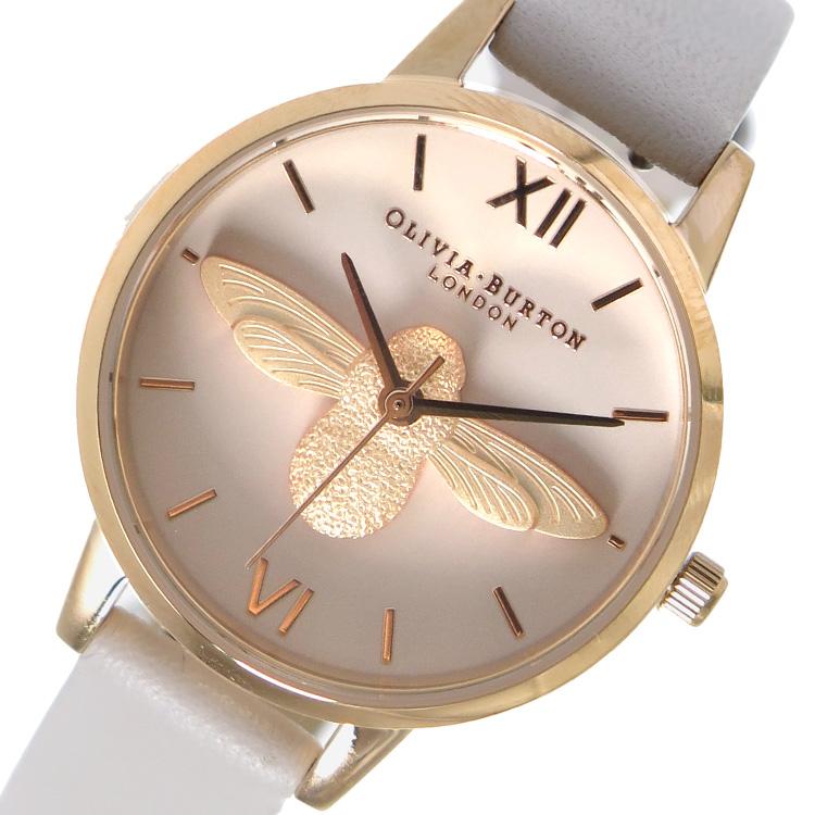 オリビアバートン OLIVIA BURTON 腕時計 時計 OB16AM85 ライトベージュ