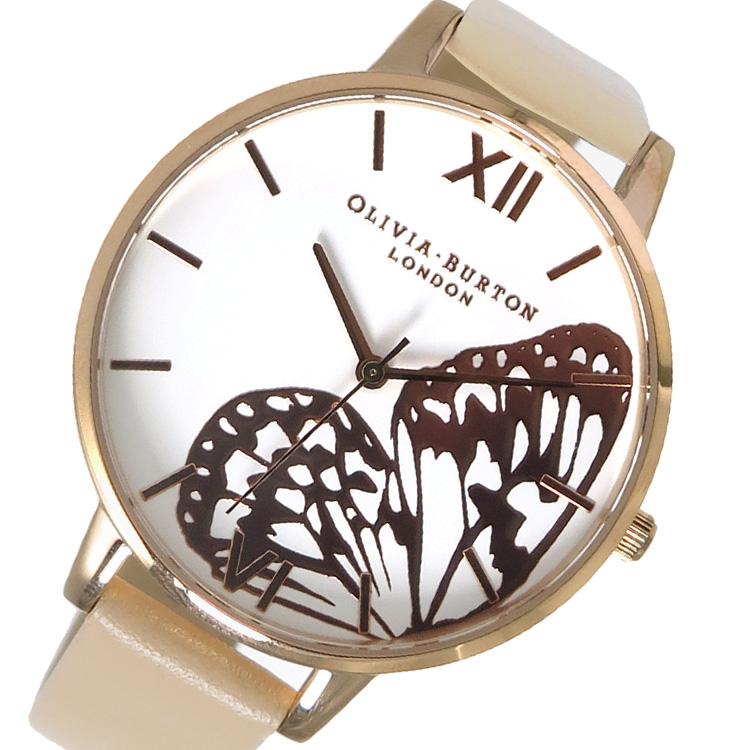 オリビアバートン OLIVIA BURTON 腕時計 時計 OB16AM94 ホワイト×ピンクゴールド