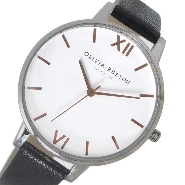 オリビアバートン OLIVIA BURTON 腕時計 時計 OB16BDW08 ホワイト×ブラック