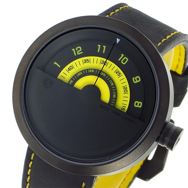 シャーク スポーツウォッチ Bonnerhead Shark クオーツ メンズ 腕時計 時計 SH421-YE ブラック/イエロー