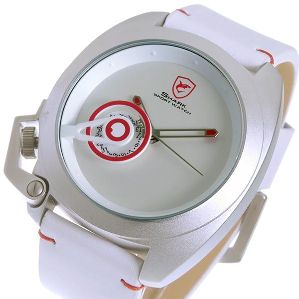 シャーク スポーツウォッチ Japan Limited Edition クオーツ メンズ 腕時計 時計 SH446-WHJP ホワイト