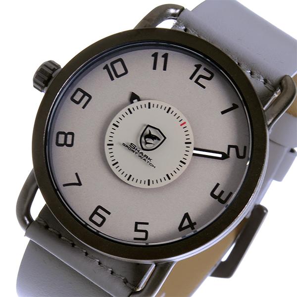 シャーク スポーツウォッチ caribbean roughshark クオーツ メンズ 腕時計 時計 SH552-GY グレー