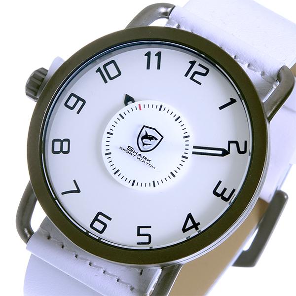 シャーク スポーツウォッチ caribbean roughshark クオーツ メンズ 腕時計 時計 SH552-WH ホワイト