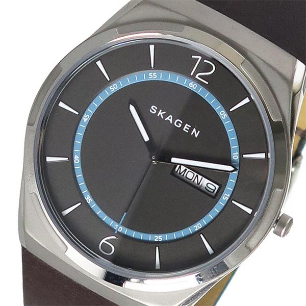 スカーゲン SKAGEN クオーツ メンズ 腕時計 時計 SKW6305 チャコール
