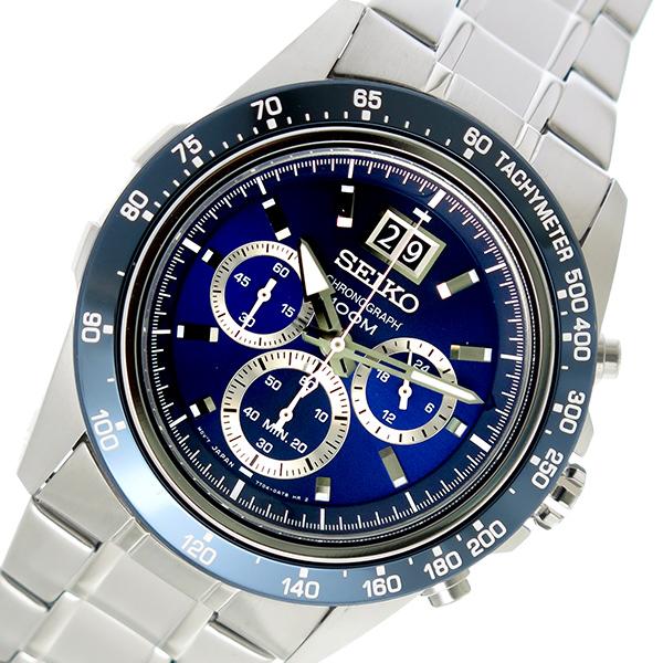 セイコー SEIKO ロード LOAD クオーツ メンズ 腕時計 時計 SPC235P1 ネイビー