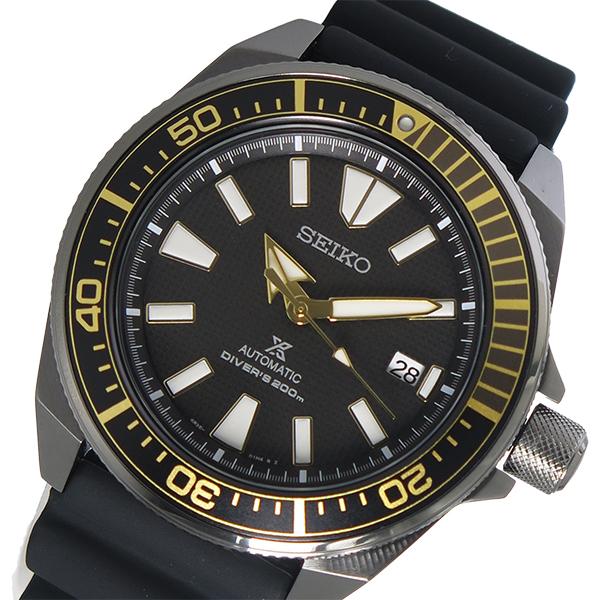 セイコー SEIKO プロスペックス PROSPEX 自動巻き メンズ 腕時計 SRPB55K1 ブラック【送料無料】