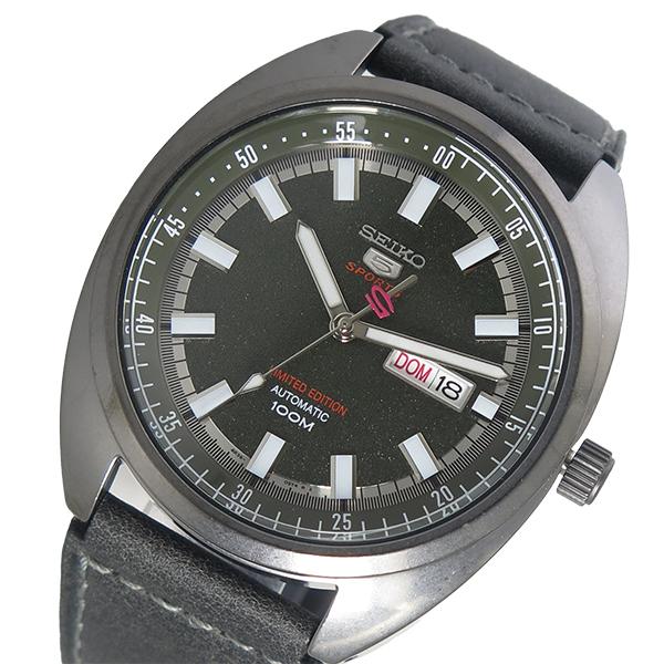 セイコー SEIKO SEIKO 5 SPORTS 自動巻き メンズ 腕時計 時計 SRPB73K1 グレー