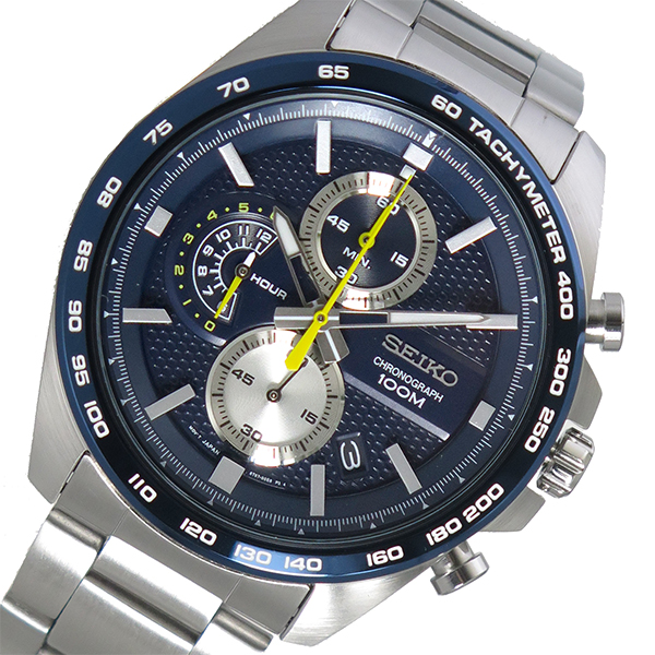 セイコー SEIKO クオーツ メンズ 腕時計 時計 SSB259P1 ネイビー