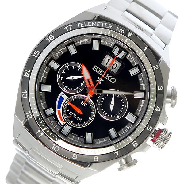 セイコー SEIKO プロスペックス PROSPEX ソーラー メンズ 腕時計 SSC603P1 ブラック【送料無料】