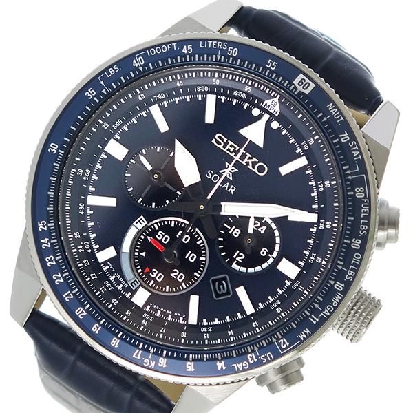 セイコー SEIKO プロスペックス PROSPEX ソーラー メンズ 腕時計 SSC609P1 ネイビー【送料無料】