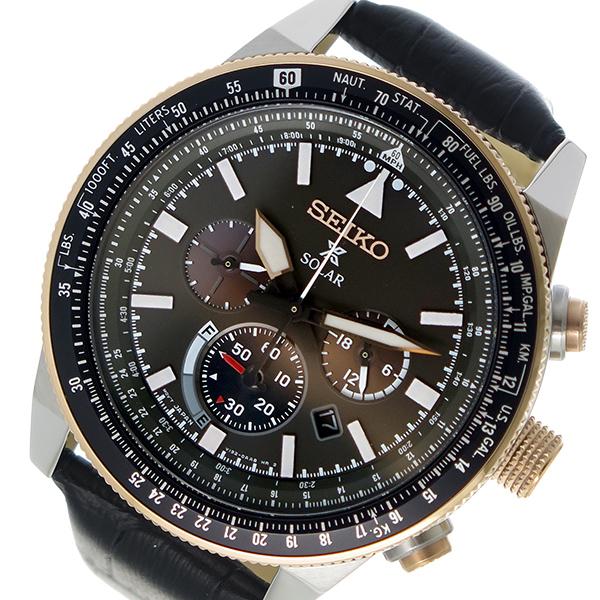 セイコー SEIKO プロスペックス PROSPEX ソーラー メンズ 腕時計 SSC611P1 ダークグレー【送料無料】【S1】