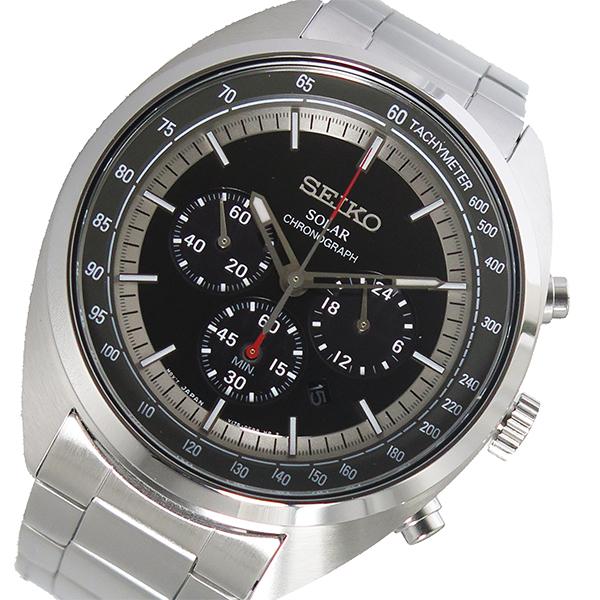 セイコー SEIKO クオーツ メンズ 腕時計 時計 SSC621P1 ブラック