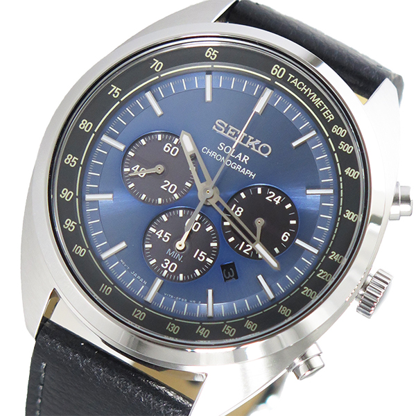 セイコー SEIKO クオーツ メンズ 腕時計 時計 SSC625P1 ブルー