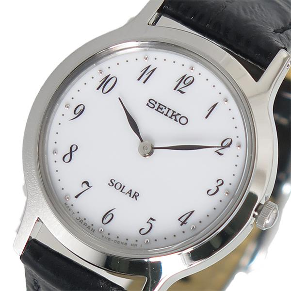 セイコー SEIKO クオーツ レディース 腕時計 時計 SUP369P1 ホワイト