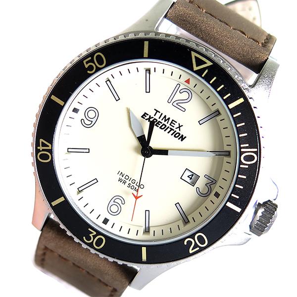 タイメックス TIMEX クオーツ 国内正規品 メンズ 腕時計 時計 TW4B10600 ベージュ
