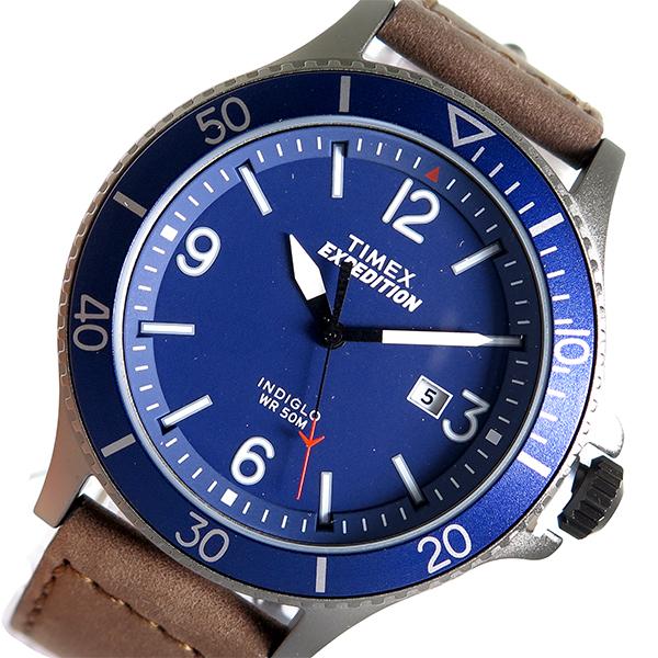 タイメックス TIMEX クオーツ 国内正規品 メンズ 腕時計 時計 TW4B10700 ネイビー