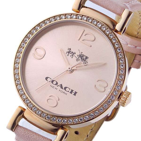 コーチ COACH マディソン ファッション MADISON FASHION クオーツ レディース 腕時計 時計 14502649 ピンク