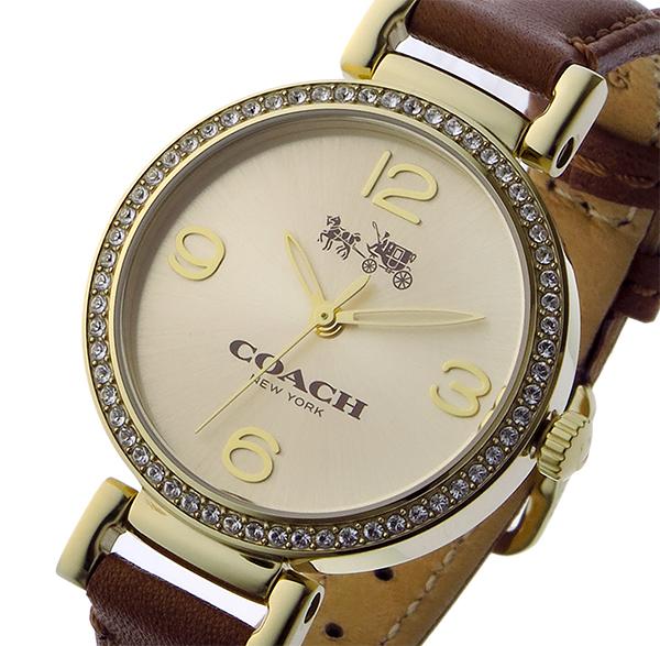 コーチ COACH マディソン ファッション MADISON FASHION クオーツ レディース 腕時計 時計 14502650 ゴールド