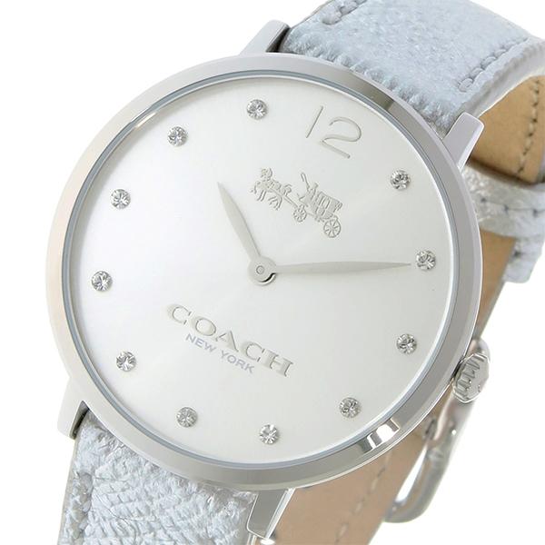 コーチ COACH イーストン クオーツ レディース 腕時計 時計 14502685 シルバー