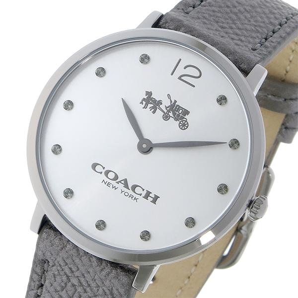 コーチ COACH イーストン クオーツ レディース 腕時計 時計 14502686 シルバー