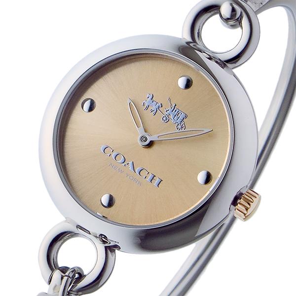 コーチ COACH ハングタグ バングル HANGTAG BANGLE クオーツ レディース 腕時計 時計 14502688 ピンクゴールド