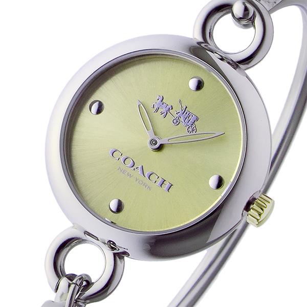 コーチ COACH ハングタグ バングル HANGTAG BANGLE クオーツ レディース 腕時計 時計 14502689 ゴールド