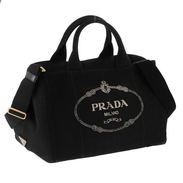 プラダ PRADA バッグ ハンドバッグ レディース 1BG642CANAPA-NER【送料無料】