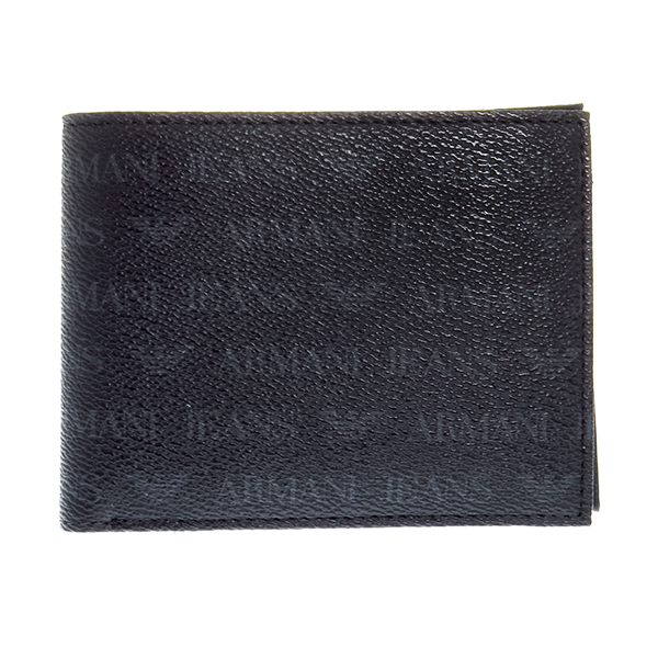 アルマーニ ジーンズ ARMANI JEANS 二つ折り財布 短財布 NERO メンズ 938538-CC996-00020 ブラック