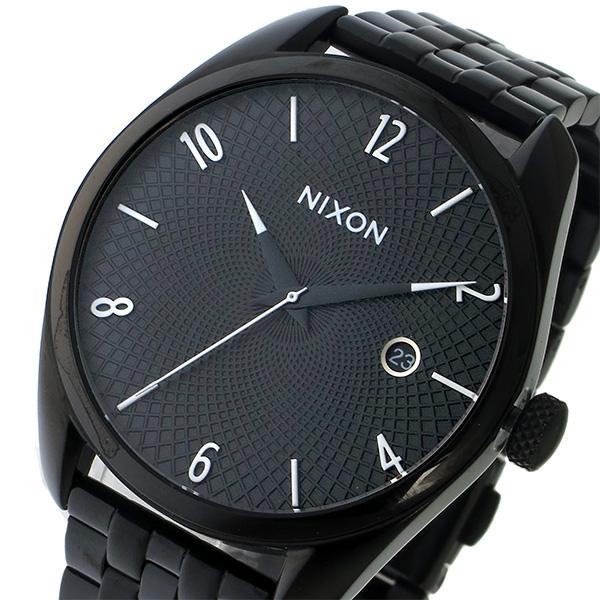 ニクソン NIXON ブレット BULLET クオーツ ユニセックス 腕時計 時計 A418-001 ブラック