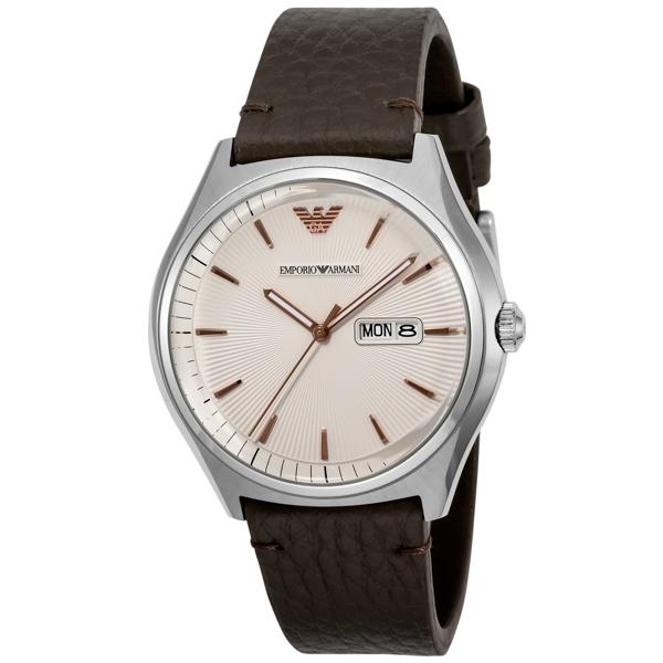 エンポリオ アルマーニ EMPORIO ARMANI クオーツ メンズ 腕時計 時計 AR1999 シルバー