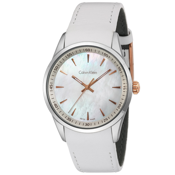 カルバン クライン Calvin Klein ボールド クオーツ メンズ 腕時計 時計 K5A31BLG ホワイトパール