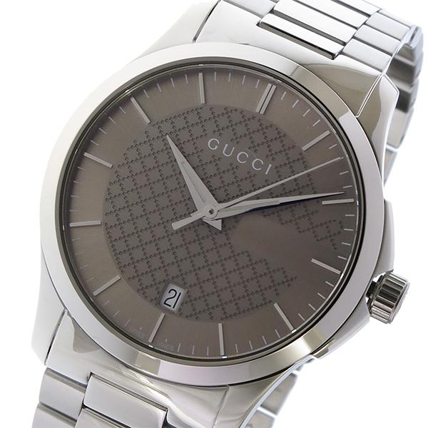 グッチ GUCCI Gタイムレス G-TIMELESS クオーツ メンズ 腕時計 YA126445 ブラウン【送料無料】