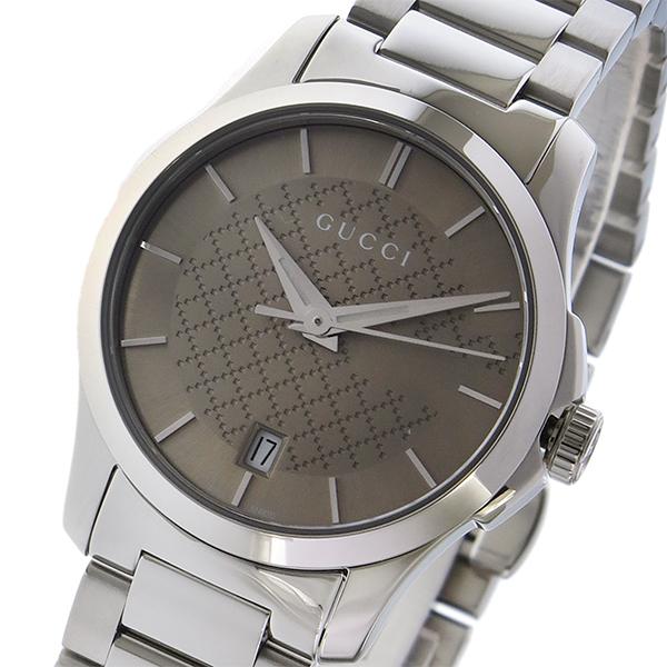 グッチ GUCCI Gタイムレス G-TIMELESS クオーツ レディース 腕時計 YA126526 ブラウン【送料無料】【ポイント10倍】