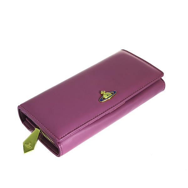 ヴィヴィアンウエストウッド VIVIENNE WESTWOOD 長財布 レディース 1032V30V-GLICI ピンク