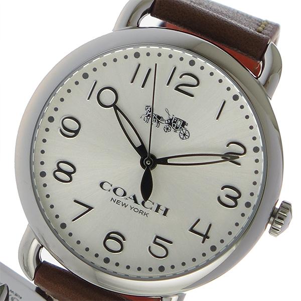 コーチ COACH クオーツ レディース 腕時計 時計 14502820 シルバー
