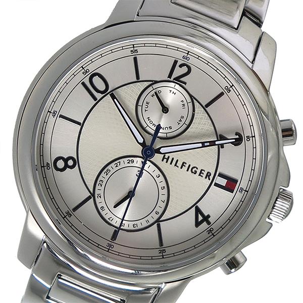 トミーヒルフィガー TOMMY HILFIGER クオーツ レディース 腕時計 時計 1781819 ホワイト