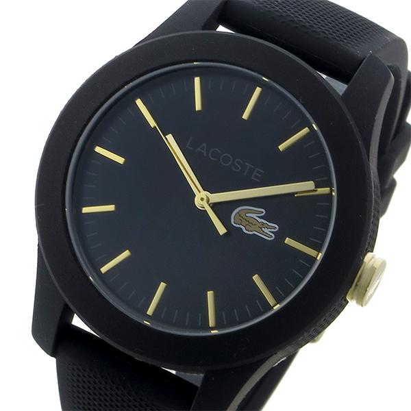 ラコステ LACOSTE クオーツ レディース 腕時計 時計 2000959 ブラック