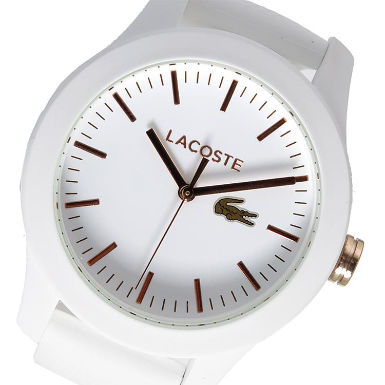 ラコステ LACOSTE クオーツ レディース 腕時計 時計 2000960 ホワイト