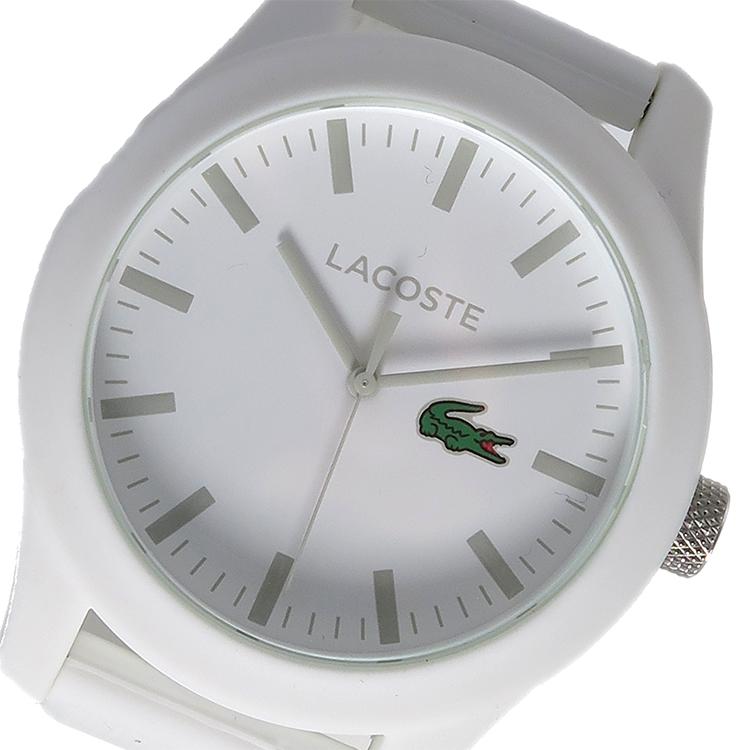 ラコステ LACOSTE クオーツ メンズ 腕時計 時計 2010762 ホワイト