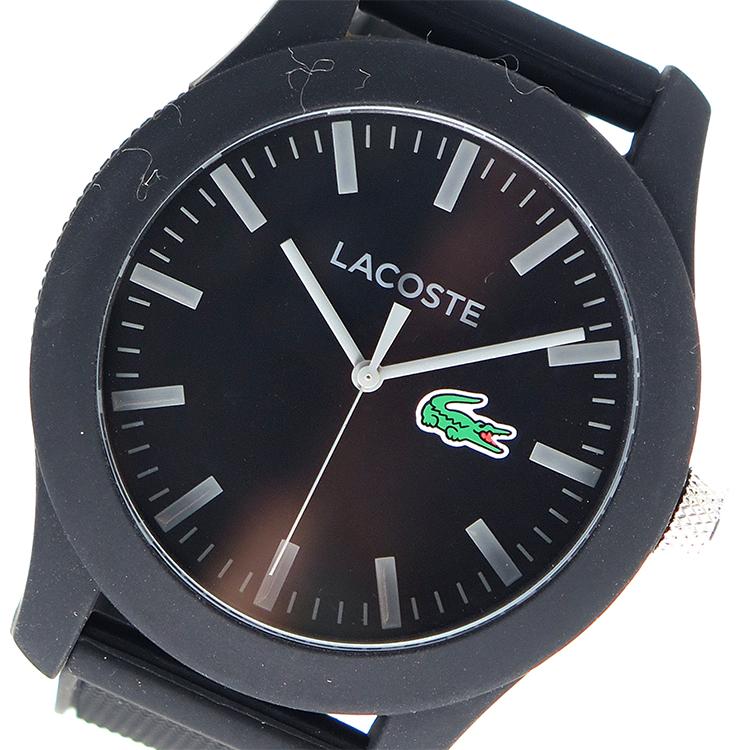 ラコステ LACOSTE クオーツ メンズ 腕時計 時計 2010766 ブラック