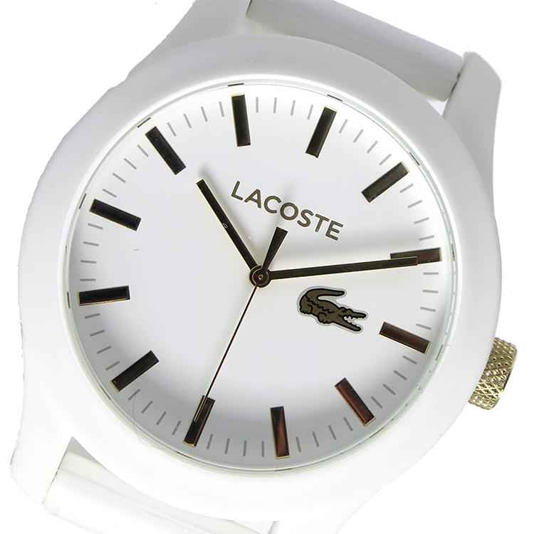 ラコステ LACOSTE クオーツ メンズ 腕時計 時計 2010819 ホワイト