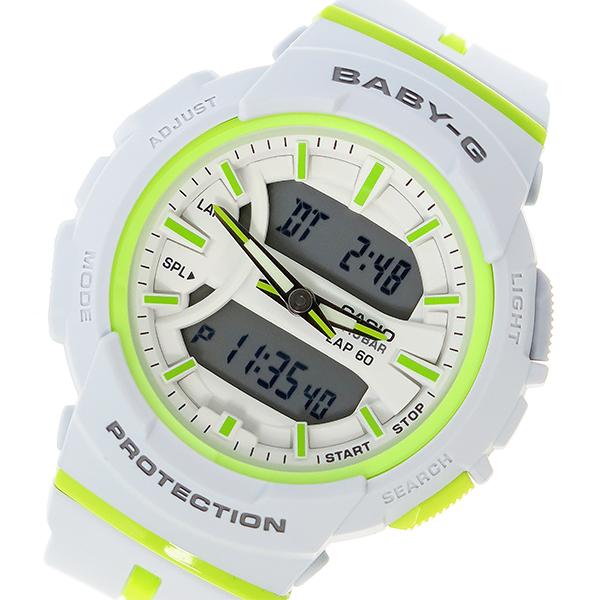 カシオ CASIO ベビーG BABY-G クオーツ レディース 腕時計 時計 BGA-240L-7A ホワイト