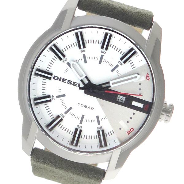 ディーゼル DIESEL クオーツ メンズ 腕時計 時計 DZ1781 ホワイト