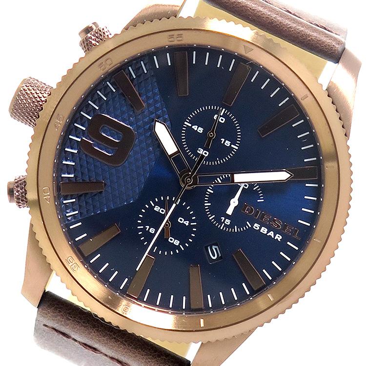 ディーゼル DIESEL クオーツ メンズ 腕時計 時計 DZ4455 ネイビー