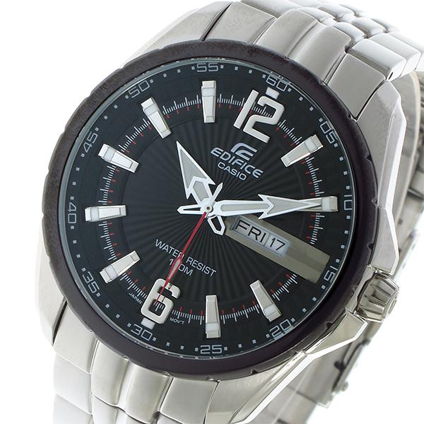 カシオ CASIO エディフィス EDIFICE クオーツ メンズ 腕時計 時計 EF-131D-1A1V ブラック