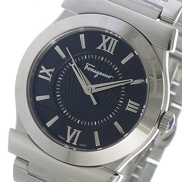 サルヴァトーレ フェラガモ Ferragamo ヴェガ クオーツ メンズ 腕時計 FI0940015 ブラック【送料無料】